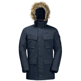 Jack Wolfskin Glacier Canyon Parka Heren, night blue